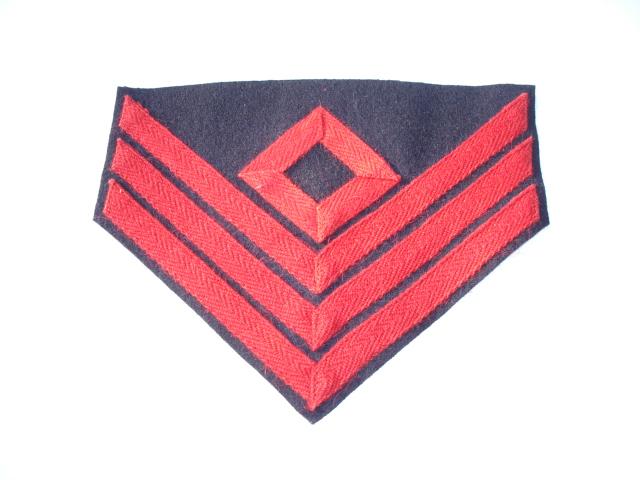 Artillery 1st Sergeant Chevrons