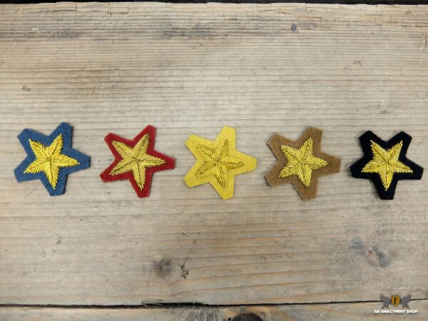 CS Embroidered star