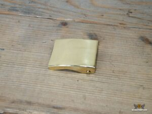 buckle gold plain