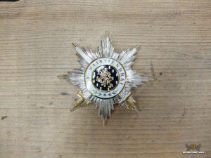 Ster Ridder Grootkruis orde van Oranje Nassau