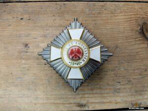 Bruststern Roter Adler Orden II. Klasse