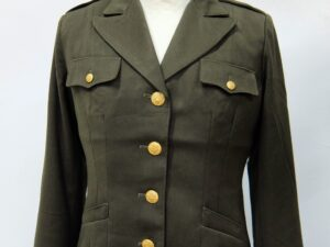 Jacket, Wool, OD, Women's, Officer's