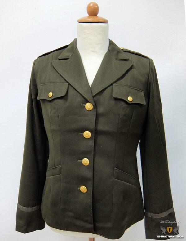 Jacket, Wool, OD, Women's, Officer's
