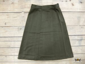 Skirt, Wool, OD, Dark, Women's, Officer's