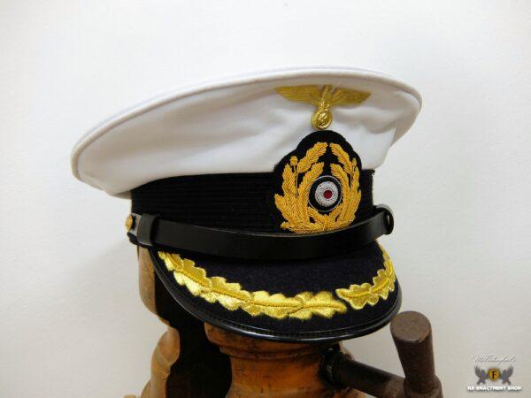 Schirmmütze Kriegsmarine Kapitän