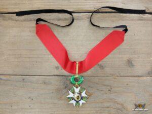 Cravate de commandeur, Legion d'honneur, troisième république