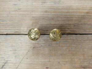 Pair of kepi buttons US