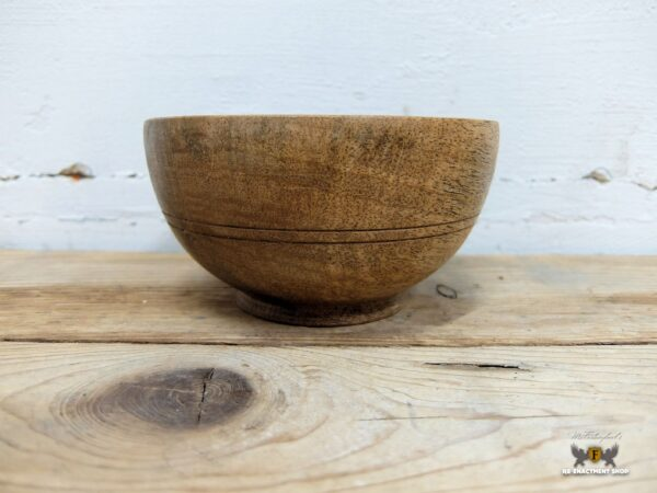 Wooden bowl
