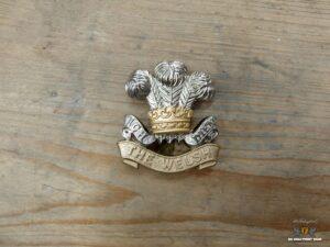 Welsh Regiment cap badge